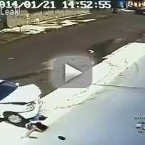 Kid Gets Hit By Car, Emerges Unharmed