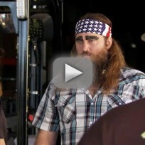 Duck dynasty clip asleep on the job