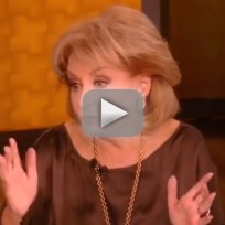 Barbara walters stands up for woody allen