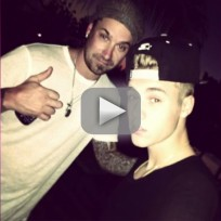 Justin and jeremy bieber high