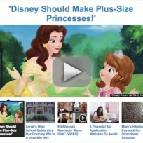 Plus-Size Disney Princesses?