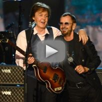 Paul mccartney and ringo starr hey jude