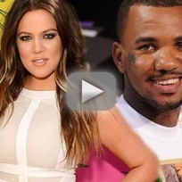 Khloe Kardashian: Grinding on The Game!