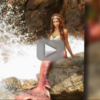 Vanessa hudgens as a mermaid