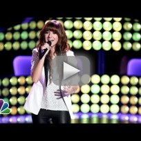 Christina grimmie wrecking ball the voice audition