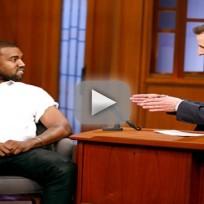 Kanye West on Late Night
