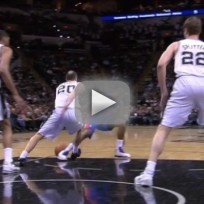 Manu Ginobili: Faked Out of His Shoes!