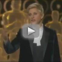 Ellen DeGeneres Oscars 2014 Opening