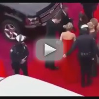 Jennifer Lawrence Trips at Oscars