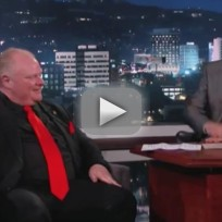 Rob ford on jimmy kimmel live part 3