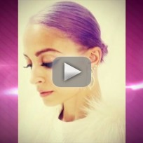 Nicole Richie's Purple Hair