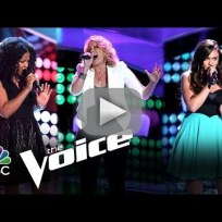 Dani Moz, Lexi Luca and Music Box (The Voice Auditions)