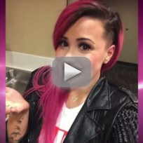 Demi lovato shaves head doesnt give a f k