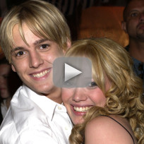 Aaron Carter Pines for Hilary Duff