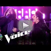 "Kat Perkins vs. Patrick Thomson: ""Whenever I Call You 'Friend"" (The Voice)"