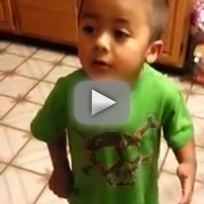 Toddler Argues About Cupcakes