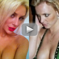 Courtney Stodden Covers Britney Spears