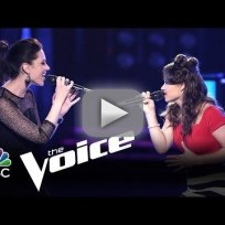 Megan vs. Ria, Ddendyl vs. Lindsay and Brothers Walker vs. Morgan (The Voice)