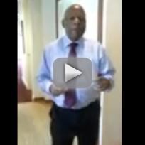 Congressman John Lewis Dancing to 'Happy'