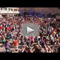 Glee Flash Mob Proposal