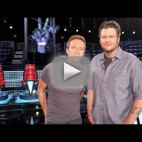 Chris martin on the voice sneak peek