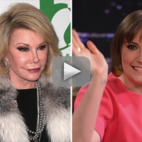 Joan rivers to lena dunham being fat is not cool