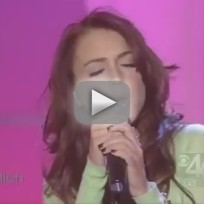 Lindsay Lohan - Over (Live on Ellen, 2004)