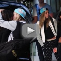 Michelle rodriguez and cara delevigne make out