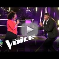 T.J. Wilkins vs. Cierra Mickens: 'Get Here' (The Voice)