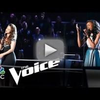 Ddendyl vs. Deja Hall: 'Say Something' (The Voice Battle Round)