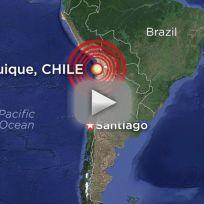 Chile Earthquake Kills 5, Measures 8.2