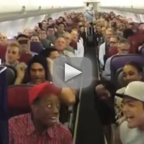 """Lion King Cast Sings """"Circle of Life"""" on Flight"""