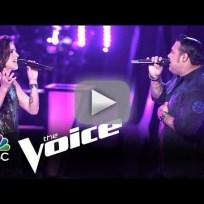 Ryan Whyte Maloney vs. Kaleigh Glanton: Easy (The Voice)