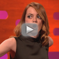 Emma stone pranked on the graham norton show