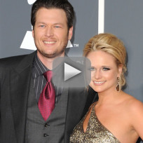 Blake shelton and miranda lambert all over