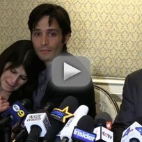 Michael egan and mother press conference