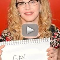 Madonna gay insult