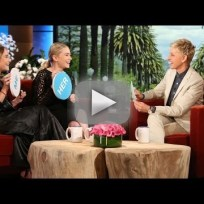 Mary-Kate and Ashley Olsen on Ellen