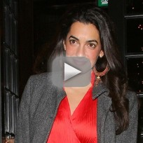 George clooney and amal alamuddin video