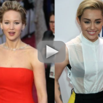 Jennifer Lawrence Puked in Front of Miley Cyrus