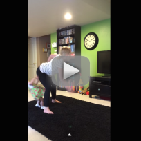 Woman Twerks Into Child