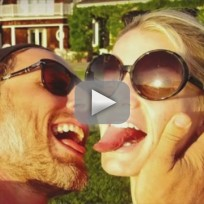 Jessica Simpson Licks Eric Johnson