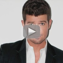 Robin thicke no pants party