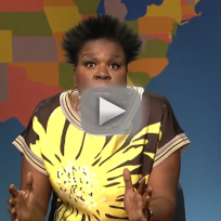 Leslie jones weekend update skit offensive