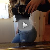 Khloe Kardashian: TINY Waist