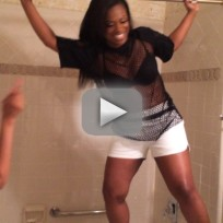 Kandi Burruss Channels Mimi Faust