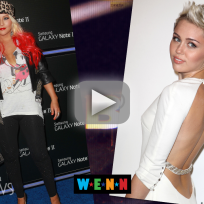 Miley cyrus christina aguilera feud