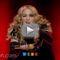 Madonna naked selfie reveals scar