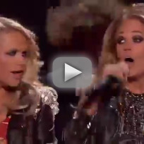 Carrie underwood miranda lambert billboard music awards performa