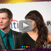 Joseph morgan persia white engaged